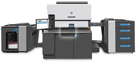 The HP Indigo 7900 digital press